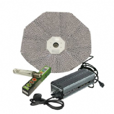 Maxibright Digilight Pro 600w Variable Ballast with Parabolic Reflector ( 1000mm, Silver ) and Sunmaster Bulb Lighting Kit